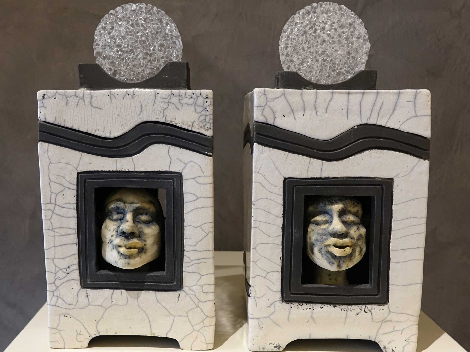 Dosen Keramik Glas Rakubrand