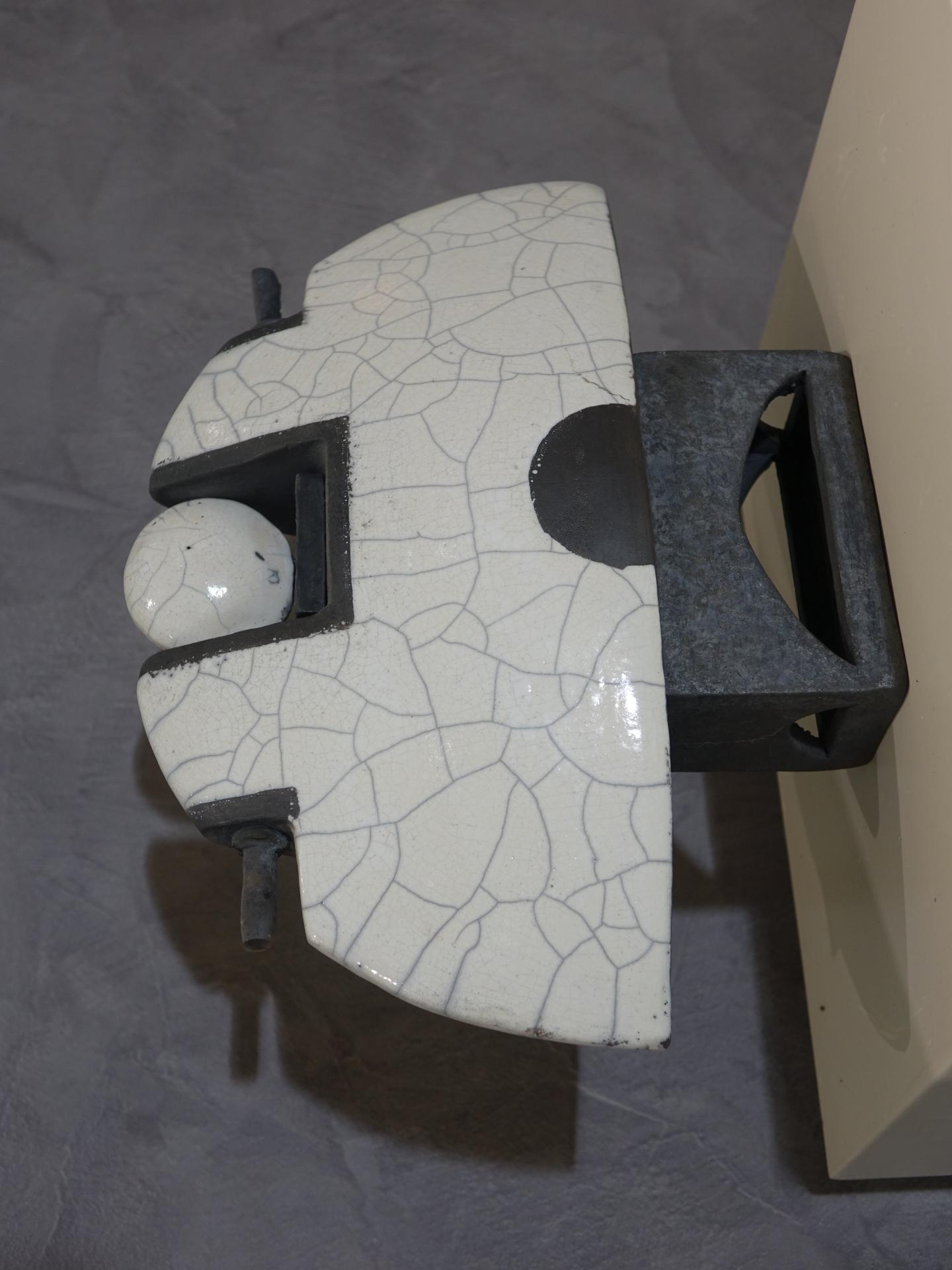 Keramik Objekt Rakubrand