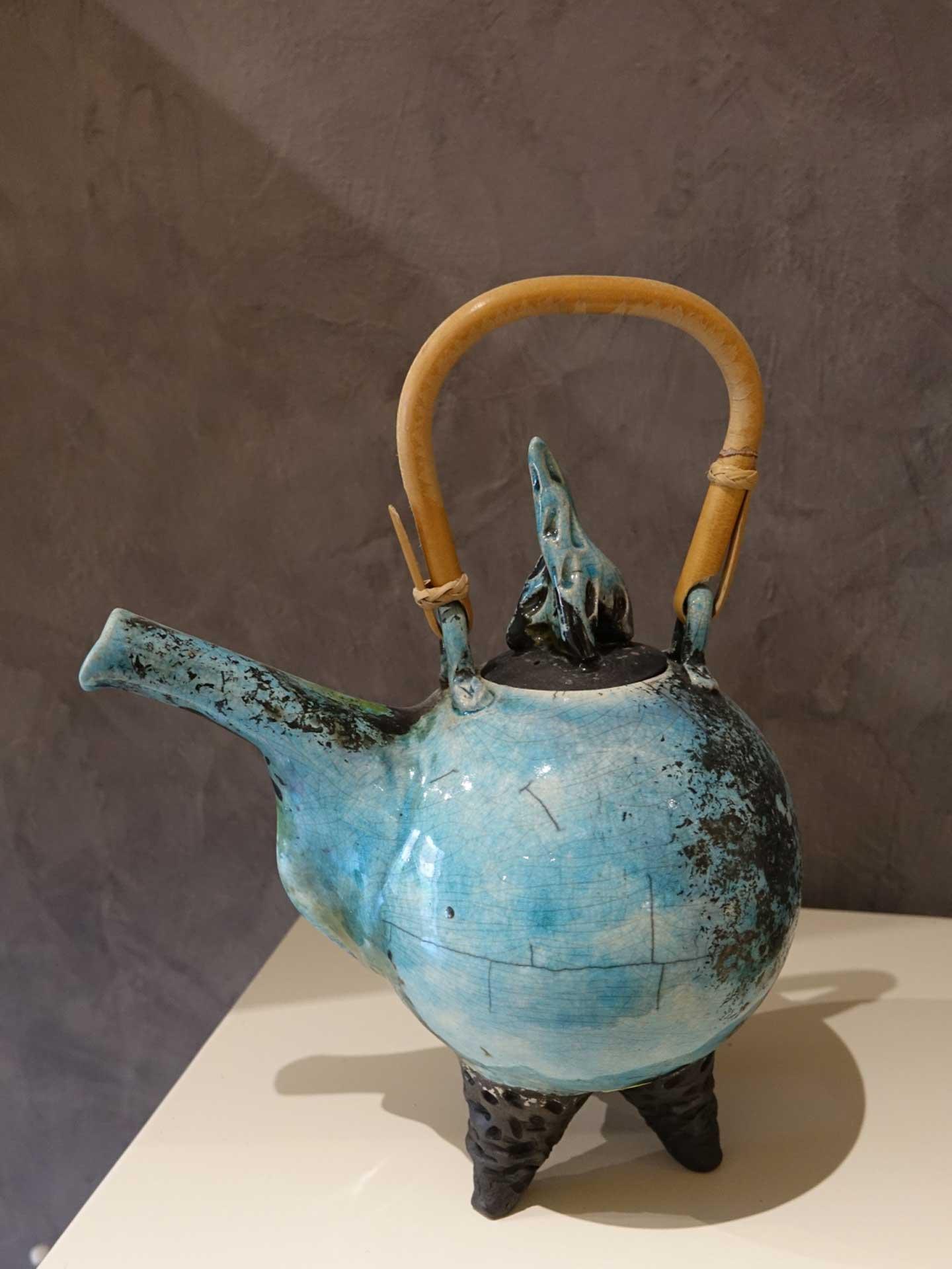 Teekanne Keramik Rakubrand